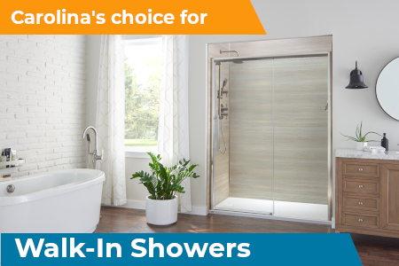 carolinas choice walk-in showers